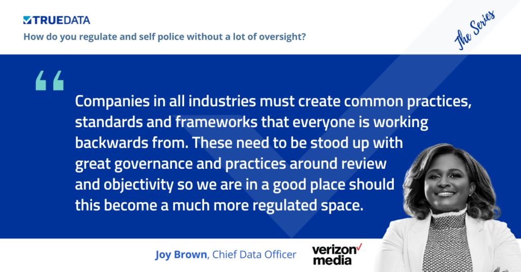 Joy Brown privacy data governance